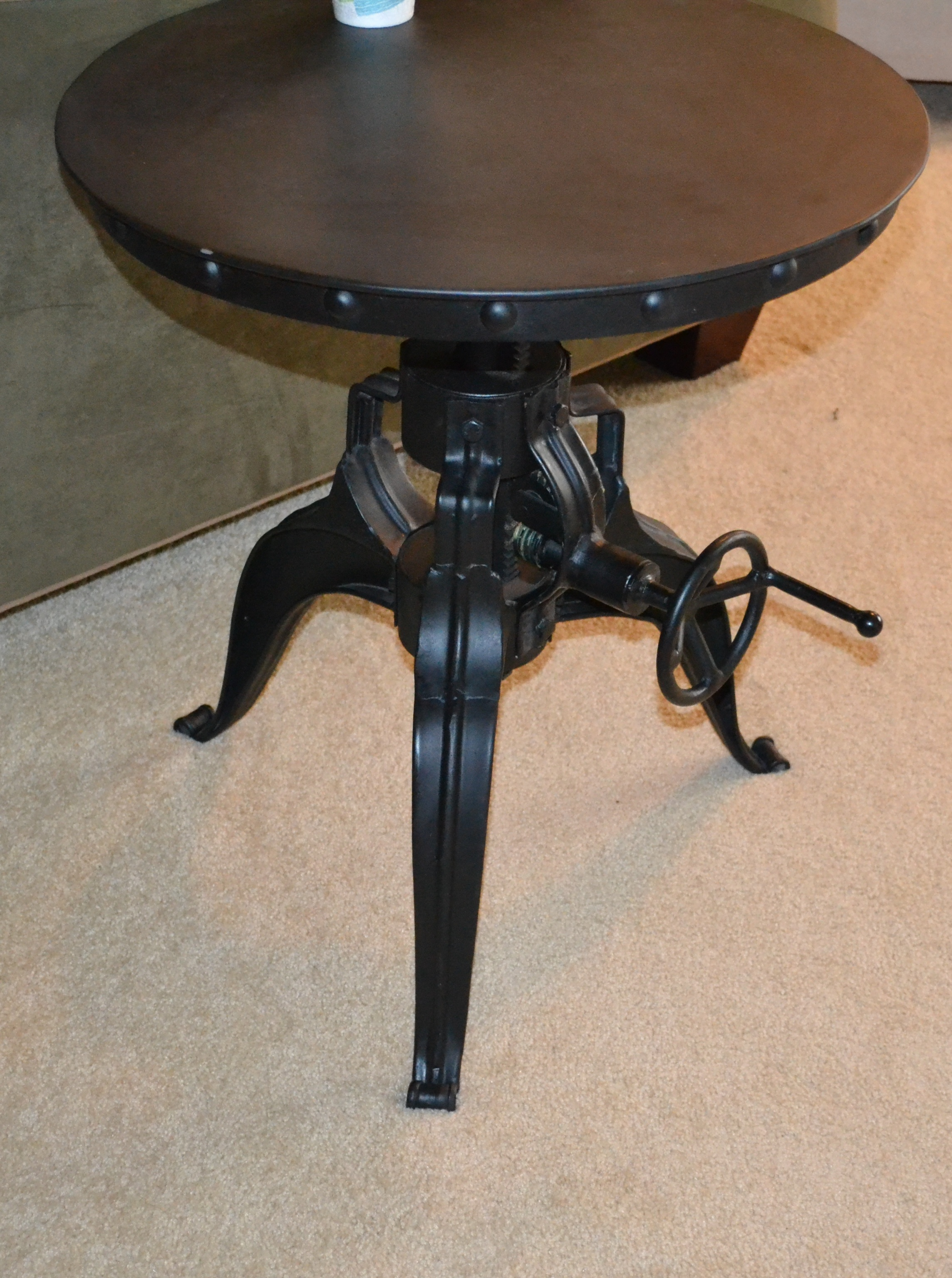 ... New Weston Crank End Table From Arhaus Furniture